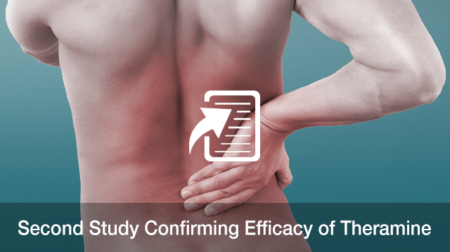 Second Study Confirming Efficacy of Theramine